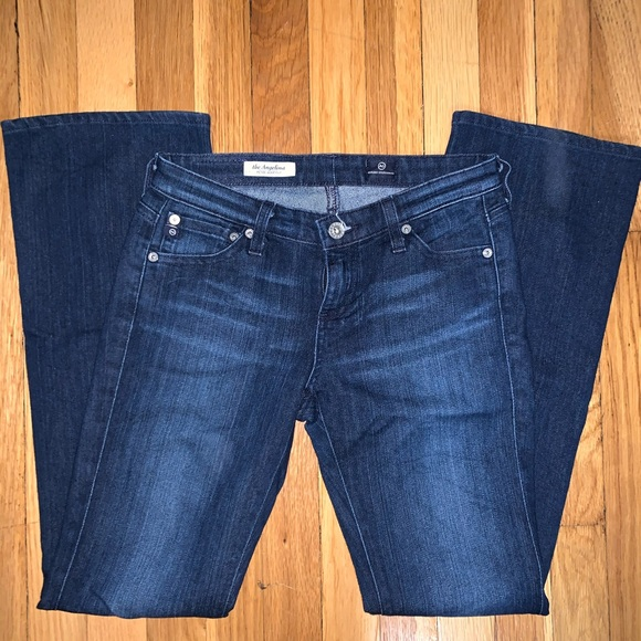 Ag Adriano Goldschmied Denim - AG The Angelina Petite Boot Cut in size 25